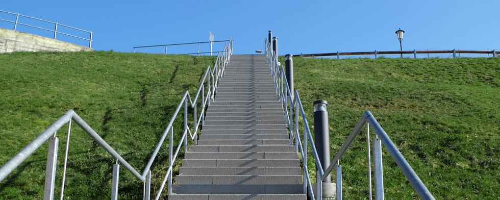 Treppe Widumweg